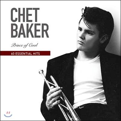 Chet Baker (쳇 베이커) - 60 Essential Hits : Prince of Cool (60 에센셜 히츠 컬렉션)