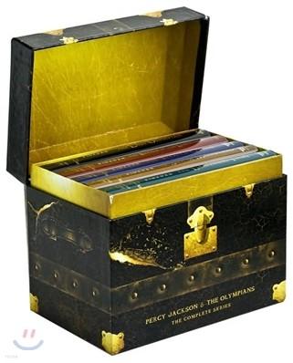 Percy Jackson and the Olympians Set : Books #1 - 5 [Box Set]