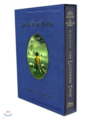 Percy Jackson and the Olympians #1 : The Lightning Thief (Deluxe Edition)