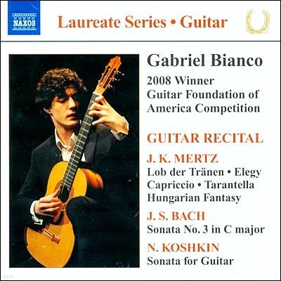 가브리엘 비앙코 기타 리사이틀 (Gabriel Bianco Guitar Recital)