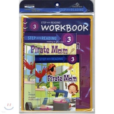 Step Into Reading 3 : Pirate Mom (Book+CD+Workbook)
