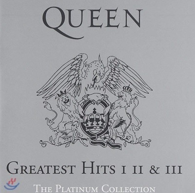 Queen - The Platinum Collection [Greatest Hits I,II & III] 퀸 베스트 앨범