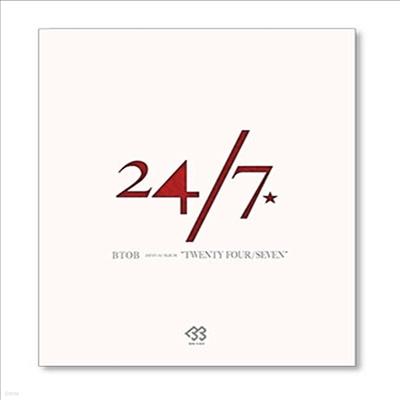 비투비 (BTOB) - 24/7 (CD+DVD) (초회한정반 A) (타워레코드 한정반)