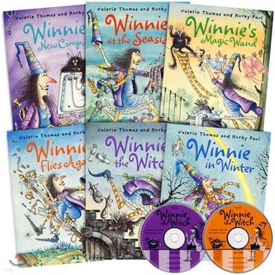 Winnie the Witch Special Box Set 1집 6종 세트 (마녀 위니 컬러판)