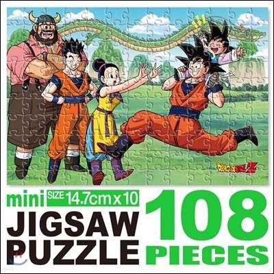 드래곤볼 미니직소퍼즐 108P 미니 사후의 세계