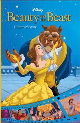 디즈니 시네스토리 만화 : 미녀와 야수 Disney Beauty and the Beast Cinestory Comic