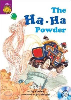 Sunshine Readers Level 5 : The Ha-Ha Powder (Book & CD)