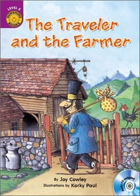 Sunshine Readers Level 5 : The Traveller and the Farmer (Book & CD)