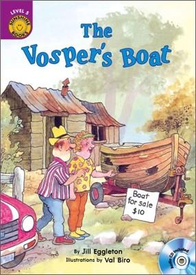 Sunshine Readers Level 5 : The Vosper's Boat (Book & CD)