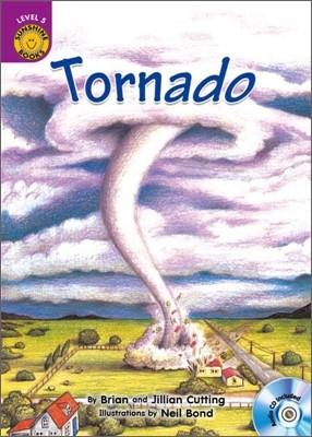 Sunshine Readers Level 5 : Tornado (Book & CD)