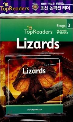 Top Readers Stage 3 Animals : Lizards