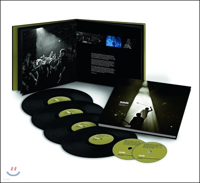 Suede (스웨이드) - Dog Man Star: 20th Anniversary Live, Royal Albert Hall (20주년 기념 로열 앨버트 홀 라이브) [4LP+2CD+Book Super Deluxe Edition]
