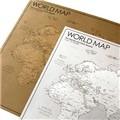 [knock] 세상을 담은 지도 - WORLD MAP 세계지도 (2장 세트)