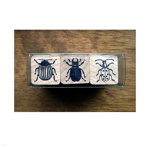 곤충스탬프세트