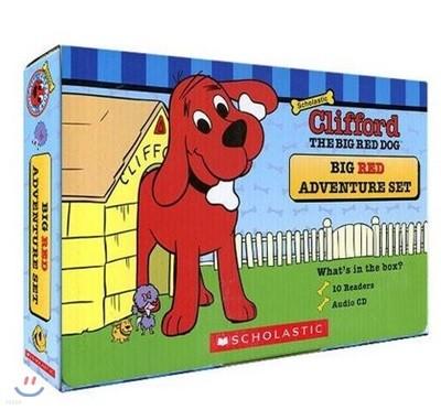 Clifford Big Red Adventure 10 Book and CD Set : 클리포드 박스 세트