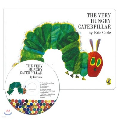 [노부영]The Very Hungry Caterpillar (Board Book & CD Set)