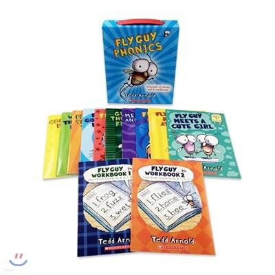 플라이 가이 파닉스 12종 박스 세트 (CD 미포함) : Fly Guy Phonics Boxed Set (12 Books)