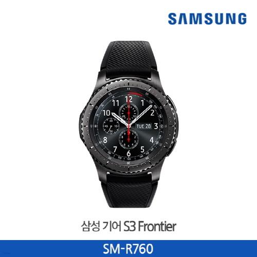 삼성전자 갤럭시 기어S3 프론티어 블루투스 스마트워치/SM-R760ND