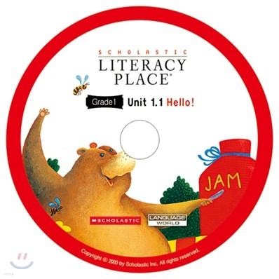 Literacy Place 1.1 Hello! : Audio CD