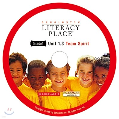 Literacy Place 1.3 Team Spirit : Audio CD