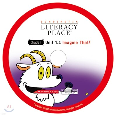 Literacy Place 1.4 Imagine That! : Audio CD
