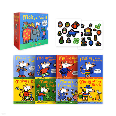 메이지 원서 그림책 8종 박스 세트 Maisy's World Eight Amazing Books 8 Books Box Set