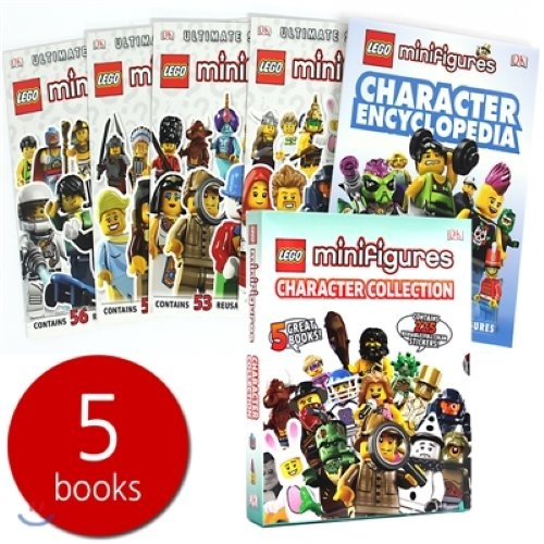 Lego Minifigures Character Collection Encyclopaedia Slipcase Set (5books)