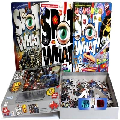 Spot What! I Spy 아이 스파이 메트로폴리스 스페셜 세트(3하드커버북+퍼즐)