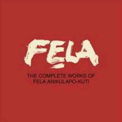 Fela Kuti - The Complete Works Of Fela Anikulapo-Kuti (29CD+DVD Box Set)