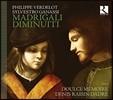 Doulce Memoire 필립 베르들로-실베스트로 가나시: 마드리갈 디미누이티 (Philippe Verdelot & Sylvestro Ganassi: Madrigali Diminuiti) 둘체 메무아르