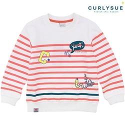 [컬리수] POP스트라이프 티셔츠 CMS1XQTS56OR [봄]