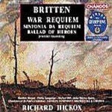 Richard Hickox / 브리튼 : 전쟁 레퀴엠 (Britten : War Requiem Op.66) (2CD/수입/CHAN89834)
