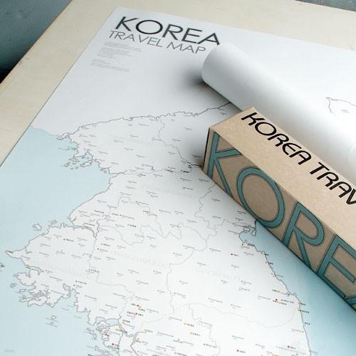 한국여행지도 - KOREA TRAVEL MAP