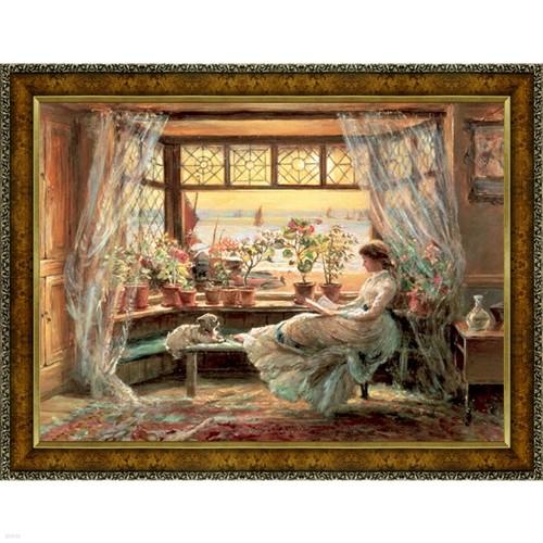 창가의책읽는소녀 (300조각 패키지/OMP308)