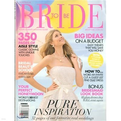 [과월호]Bride To Be (계간) : 2009년 08월/10월