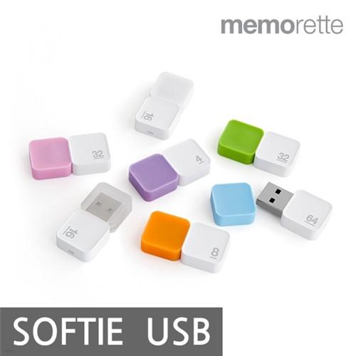 [ONLY YES24 최저가][무료배송][메모렛] 소프티 softie 16GB USB메모리