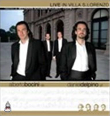Alberto Bocini / Daniel del Pino 베토벤 / 슈만 / 슈베르트 / 쇼팽: 콘트라베이스와 피아노 듀오 편곡반  (Live in Villa S.Lorenzo)