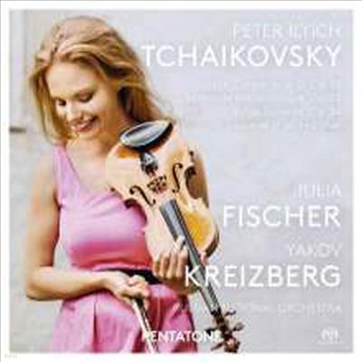 차이코프스키: 바이올린 협주곡, 우울한 세레나데, 소중한 곳에 대한 추억 (Tchaikovsky: Violin Concerto, Serenade Melancolique, Souvenir D'un Lieu Cher) (SACD Hybrid) - Julia Fischer