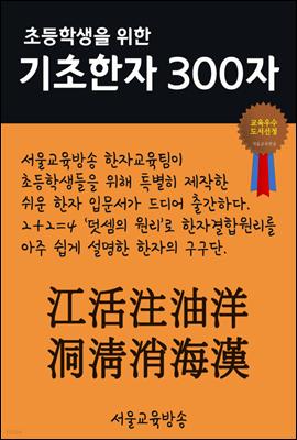 초등학생을 위한 기초한자 300자 중급한자 : 江活注油洋洞淸消海漢