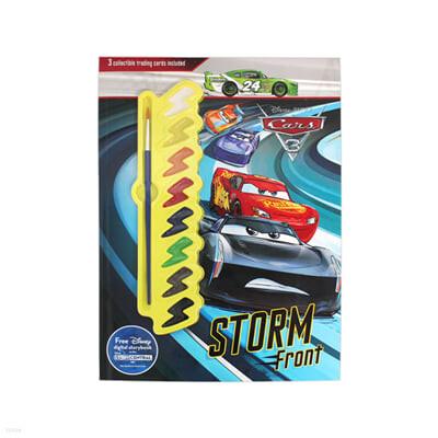 [스크래치 특가] Disney Pixar Cars 3 Storm Front: 3 Collectible Trading Cards Included