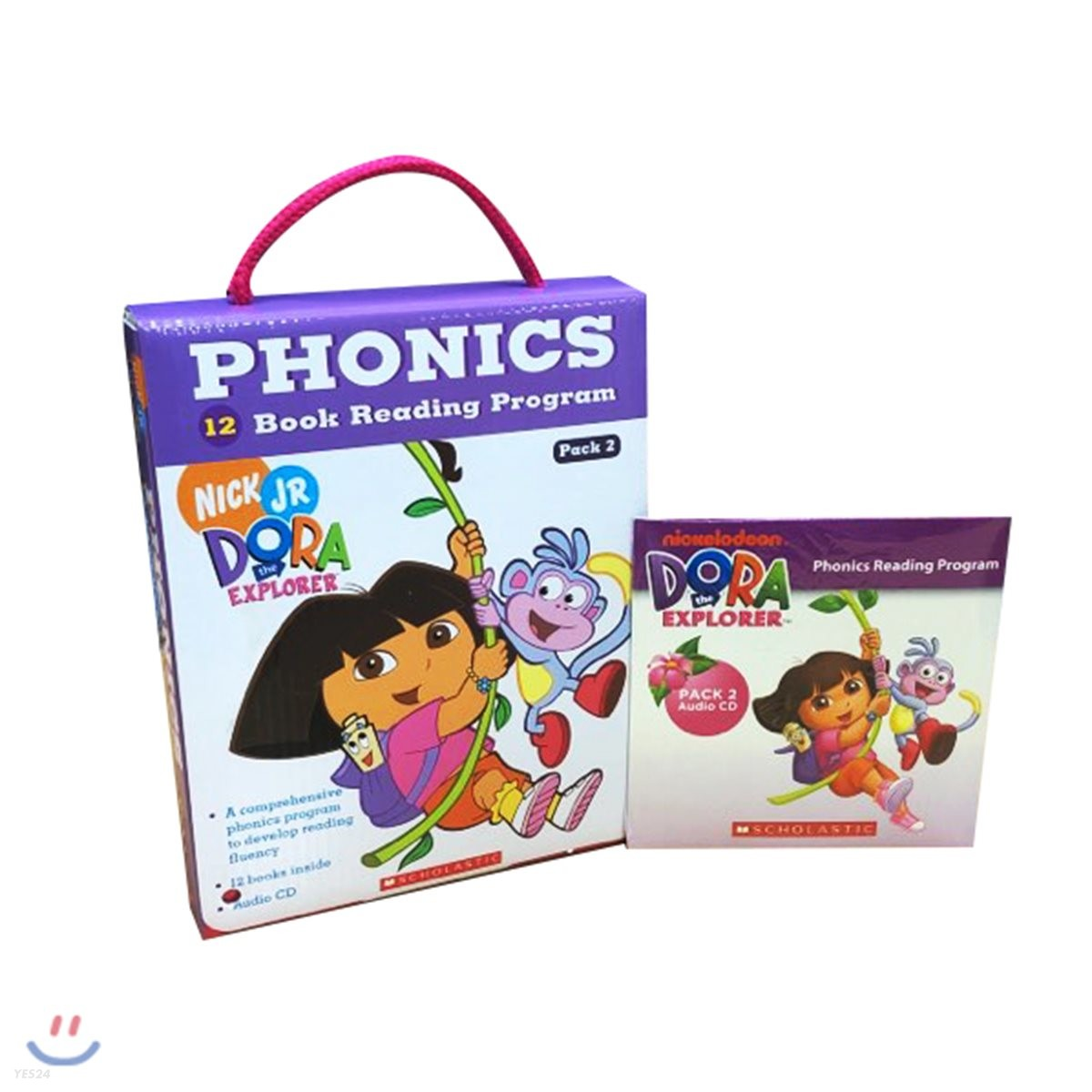 Dora The Explorer Phonics Fun Pack 2 with CD : 도라 파닉스 리더스 2
