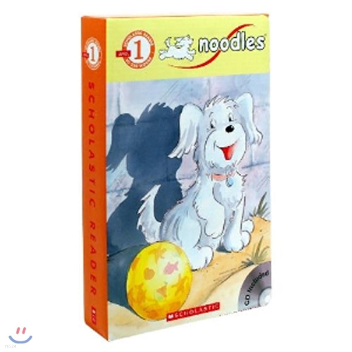 Noodles 스콜라스틱 리더스 누들스 세트 (10 Book + CD)