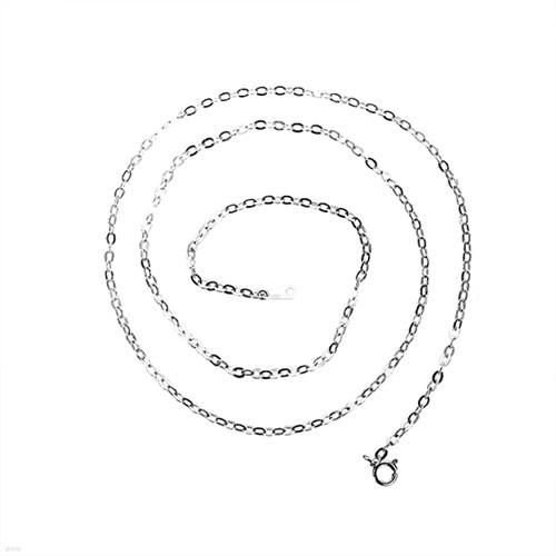 [실버웍스] 2.4mm 모체인 은목걸이 : MOC000N0D24 925실버 핸드메이드 주문제작상품