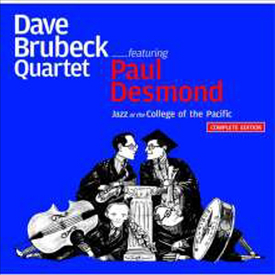 Dave Brubeck & Paul Desmond - Jazz At The College Of The Pacific: Complete Edition (Remastered)(12 Bonus Tracks)(2CD)