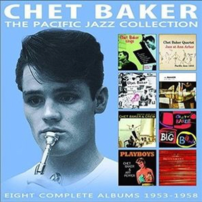 Chet Baker - Pacific Jazz Collection: 8 Complete Albums 1963-1958 (Remastered)(4CD Set)