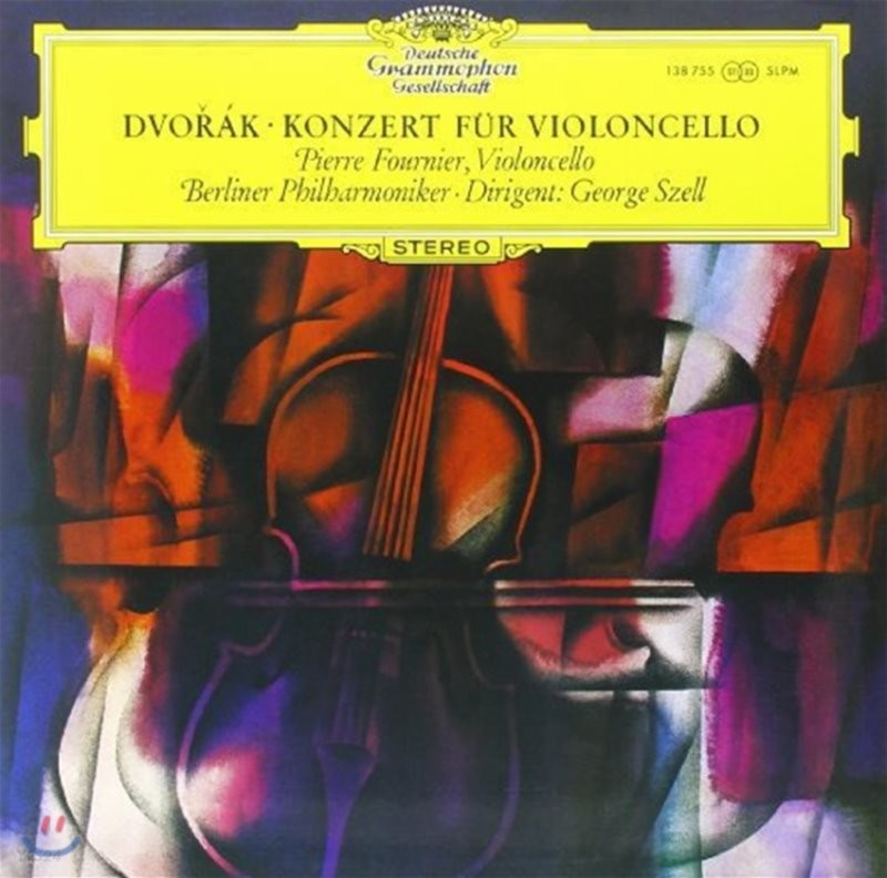 Pierre Fournier 드보르작: 첼로 협주곡 (Dvorak: Cello Concerto Op.104) [LP]