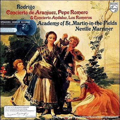 Pepe Romero / Neville Marriner 로드리고: 아랑훼즈 협주곡 (Rodrigo: Concierto de Aranjuez) [LP]