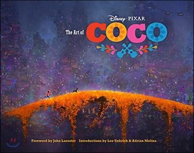 Disney Pixar The Art of Coco 디즈니 픽사 코코 공식 컨셉 아트북