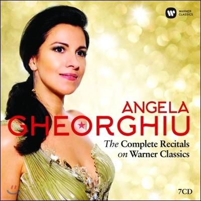 안젤라 게오르규 - 워너 클래식스 리사이틀 전집 (Angela Gheorghiu - The Complete Reciatls on Warner Classics)
