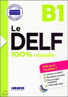 Le Delf B1 100% Reussite (+CD MP3)